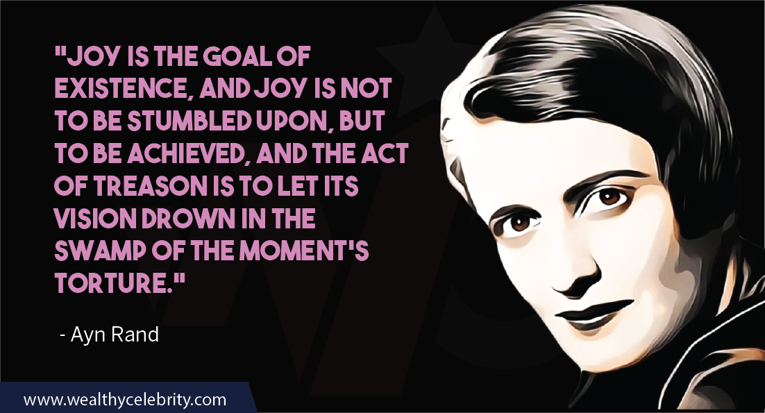 Ayn Rand Quotes about achievement