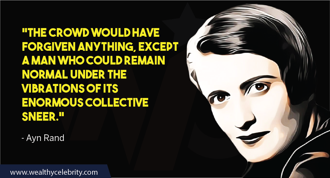 Ayn Rand Quotes about life