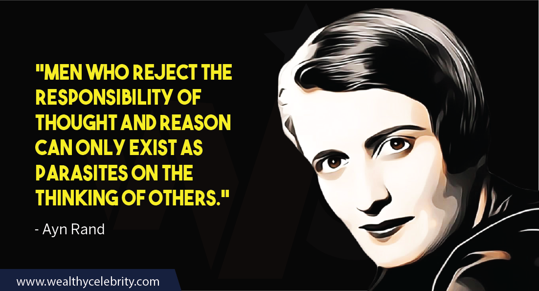 Ayn Rand Quotes about life, men and responsibilities