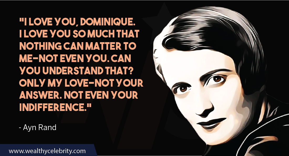 Ayn Rand Quotes about love