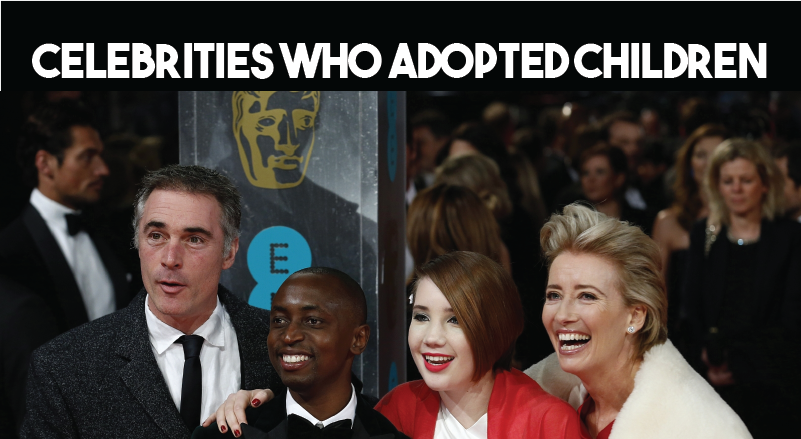 Celebrities Who Adopted Children