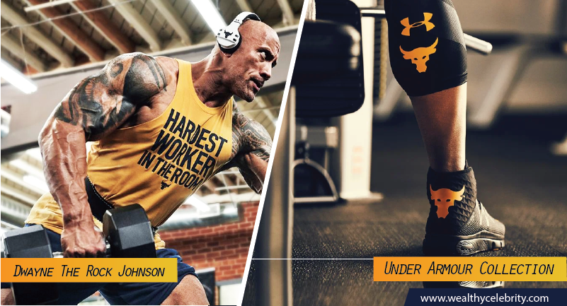 Dwayne The Rock Johnson - Under Armour Collection