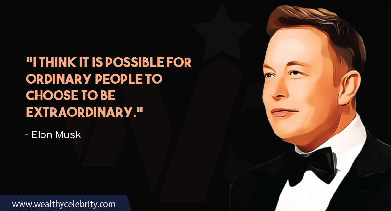 Elon Musk motivational quote about own choices