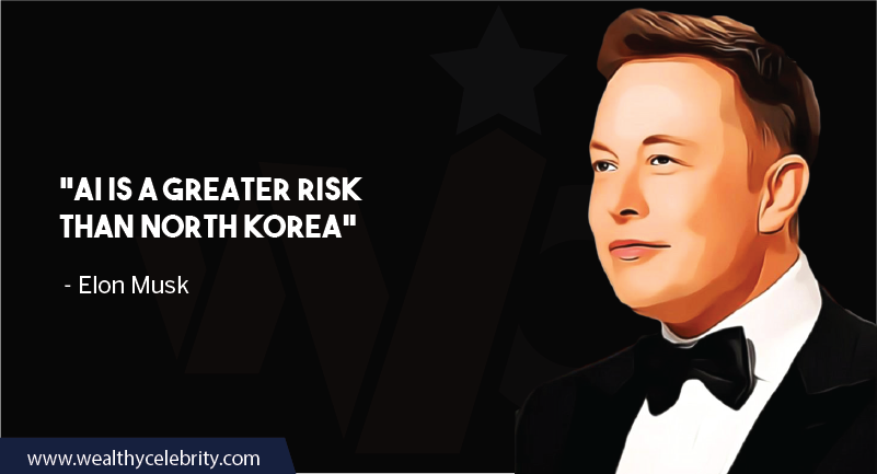 Elon Musk quotes about AI and Sarcasm about North Korea