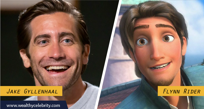Jake Gyllenhaal Disney Look Alike Flynn Rider