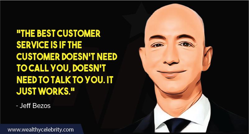 Jeff Bezos Quotes about customer services