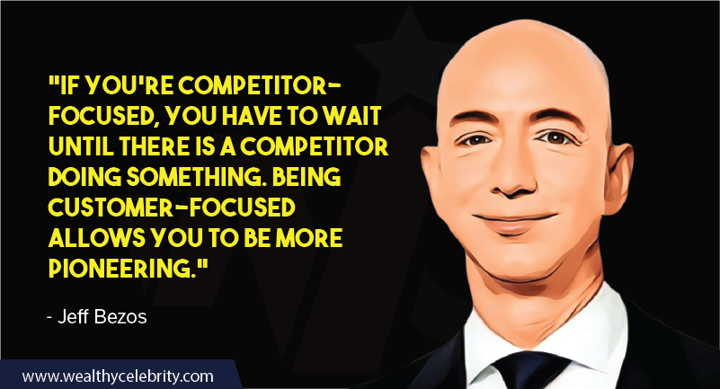 Jeff Bezos Quotes about customers