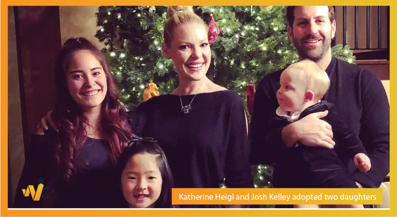 Katherine Heigl and Josh Kelley adopted two daughters