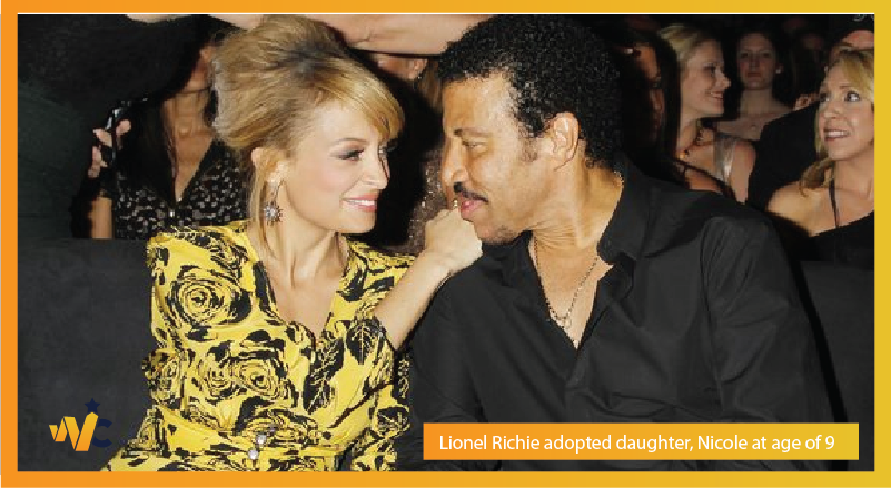 Lionel Richie adopted daughter, Nicole