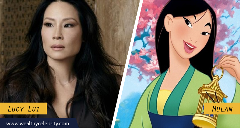 Lucy Lui Disney Look Alike Mulan