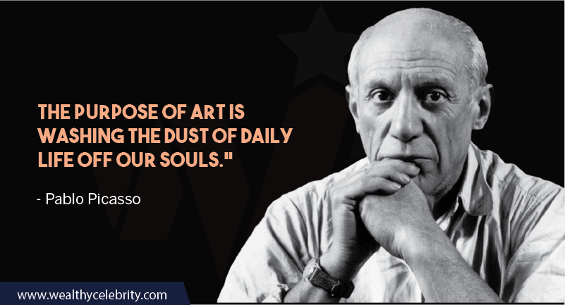 Pablo Picasso Quotes about painting and art