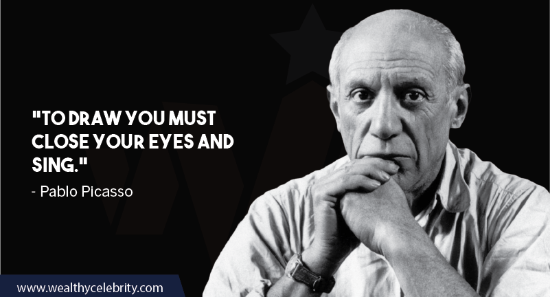 Pablo Picasso about imagination and painting