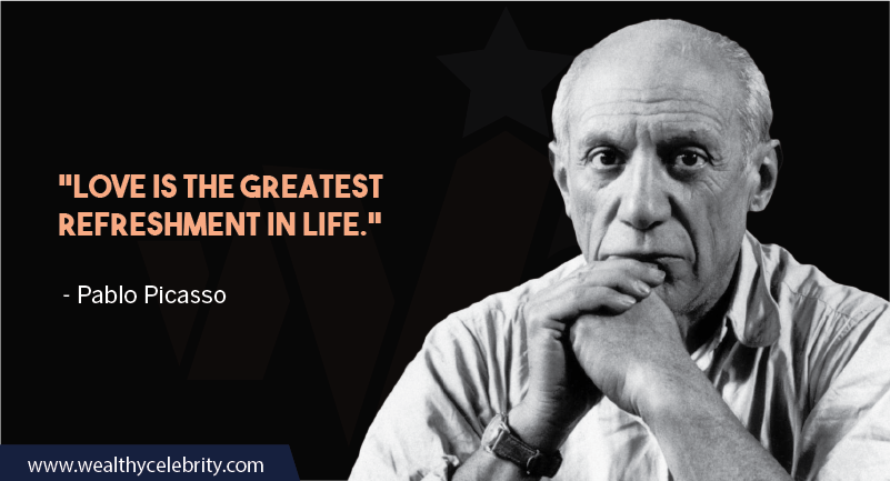 Pablo Picasso about love