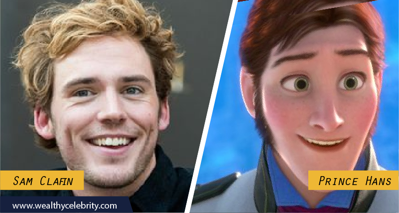 Sam Clafin Disney Look Alike Prince Hans