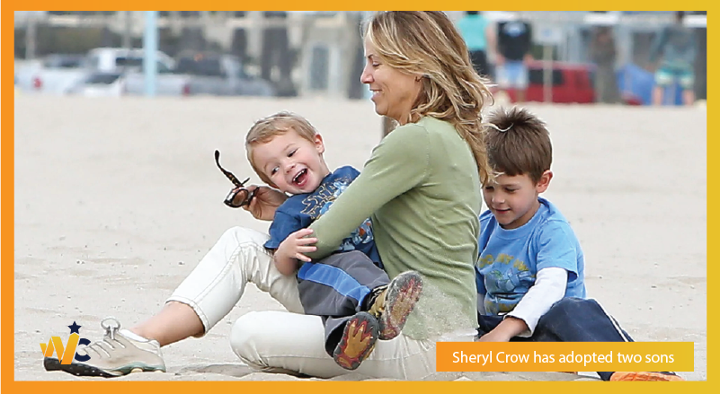 Sheryl Crow adopted two sons