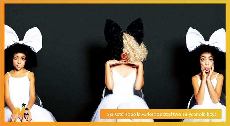Sia Kate Isobelle Furler adopted two 18-year-old boys