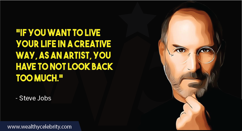 Steve Jobs motivational quote about life