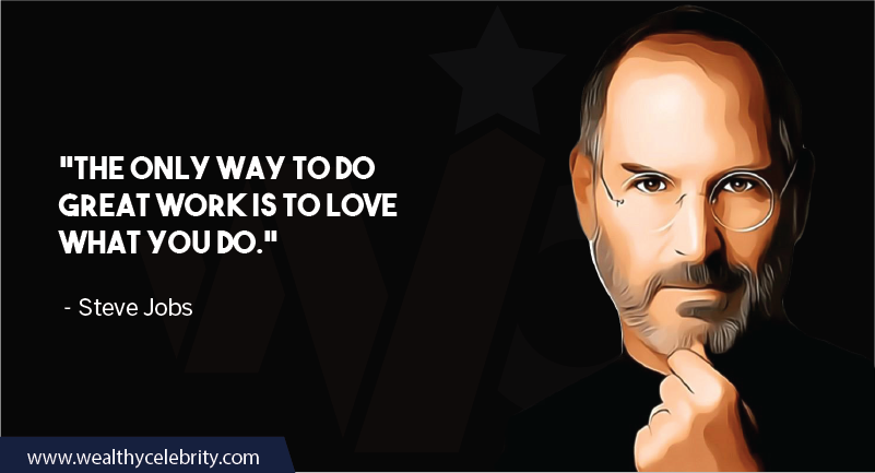 Steve Jobs motivational quote about work
