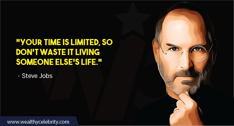 Steve Jobs motivational quotes about time and self importance