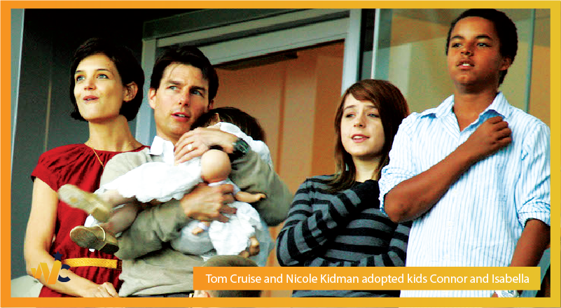 Tom Cruise and Nicole Kidman adopted kids Connor and Isabella