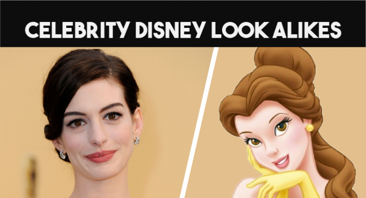 Top10 Celebrities Disney Look Alikes