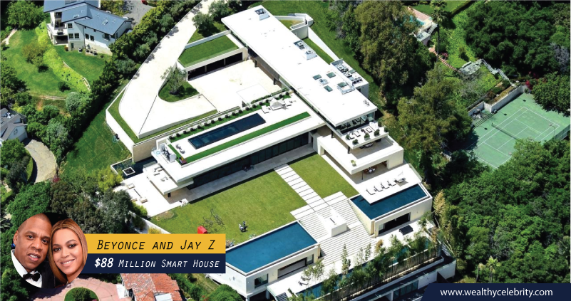 Beyonce and Jay Z 88 Million Dollar Smart House
