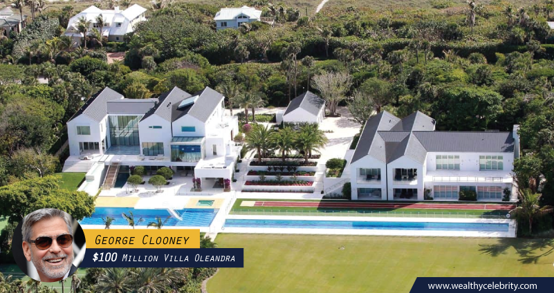 George Clooney 100 Million Dollar Villa