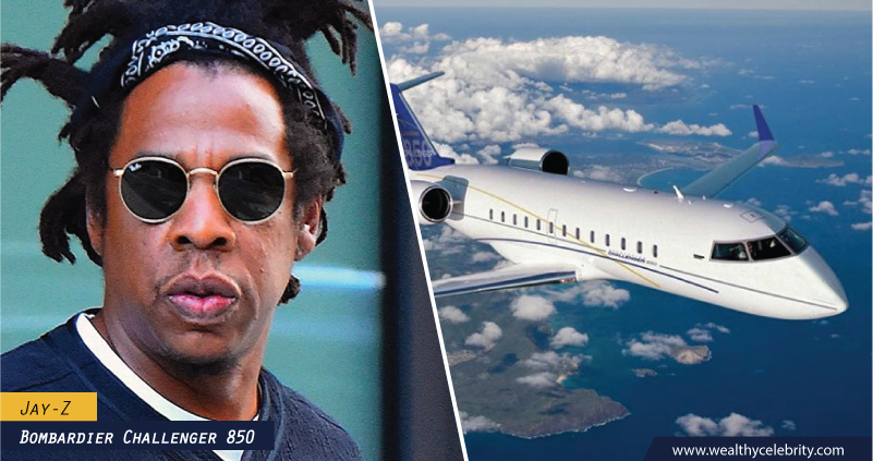 Jay Z - Jet Plane - Bombardier Challenger 850