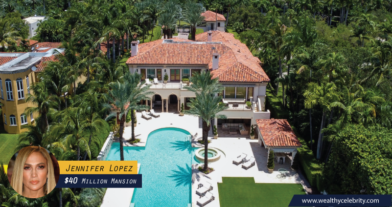 Jennifer Lopez 40 Million Dollar Mansion