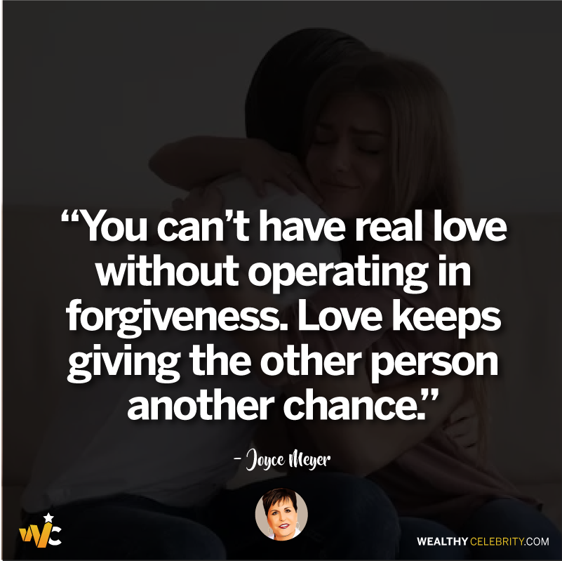 Joyce Meyer quotes about love and forgiveness