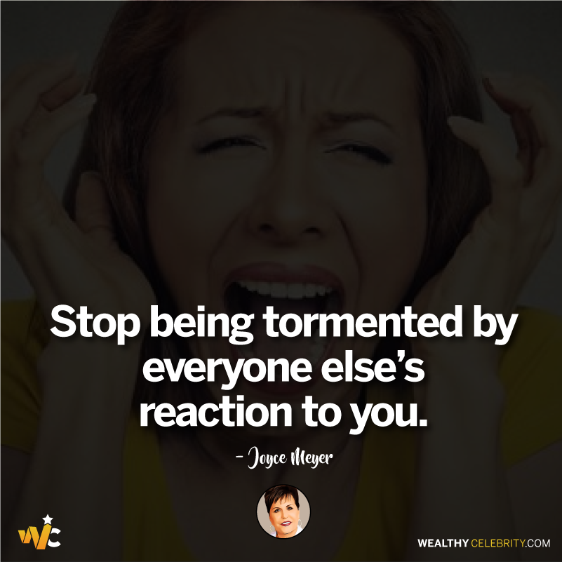 Joyce Meyer quotes about relationship & being tormented by others