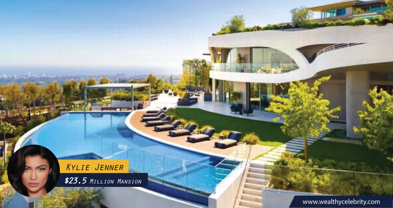 Kylie Jenner 23.5 Million Dollar Mansion