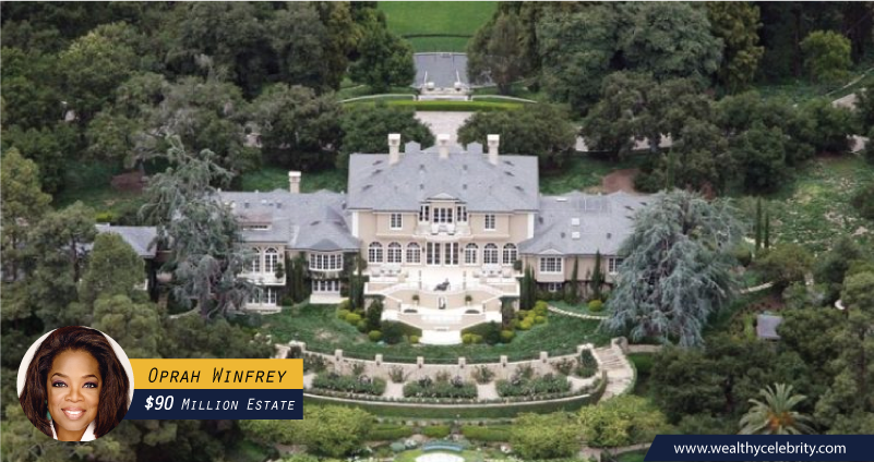 Oprah Winfrey 90 Million Dollar Estate