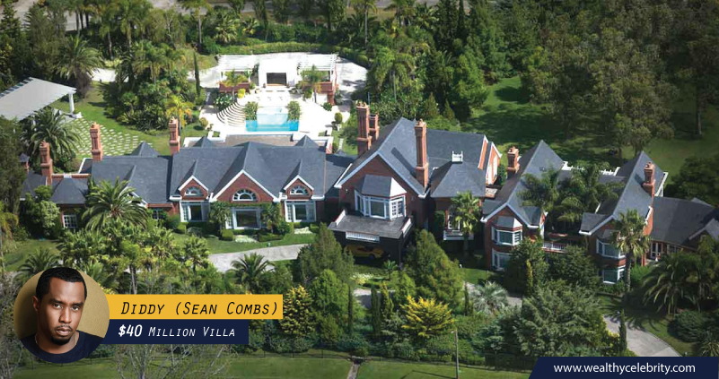 Sean Combs - Diddy 40 Million Dollar Villa