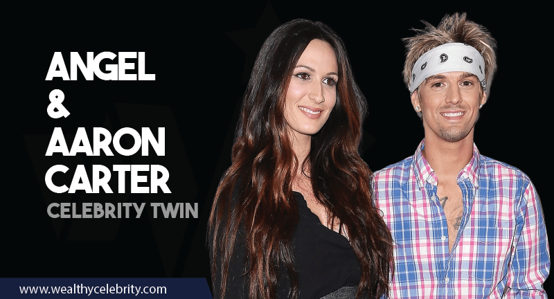 Angel and Aaron Carter - Celebrity Twins