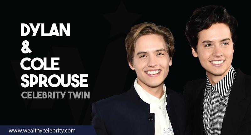 Dylan and Cole Sprouse - Celebrity Twins