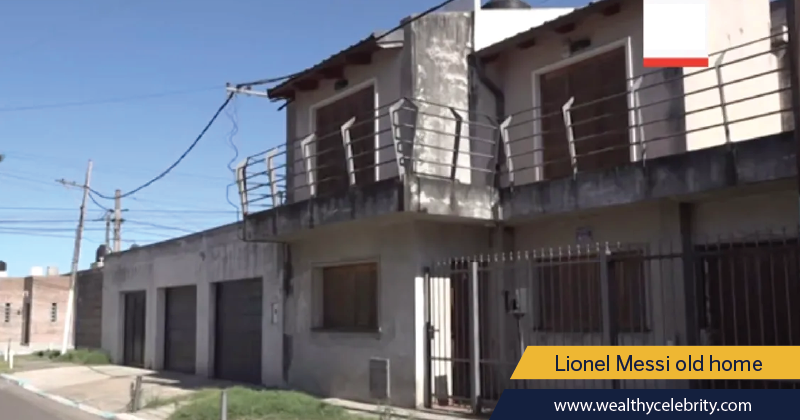 Lionel Messi old childhood house