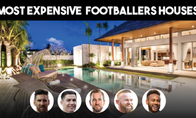 Most Expensive Luxurious Footballers house