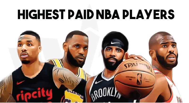 Top 10 Highest Paid NBA Players