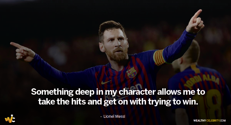 Lionel Messi Quotes about achieving dreams