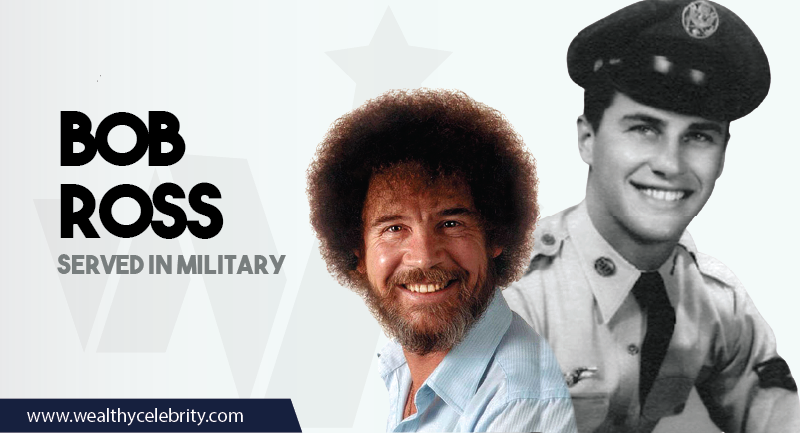 Bob Ross served in military