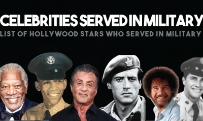 Hollywood Celebrities That Served in The Military