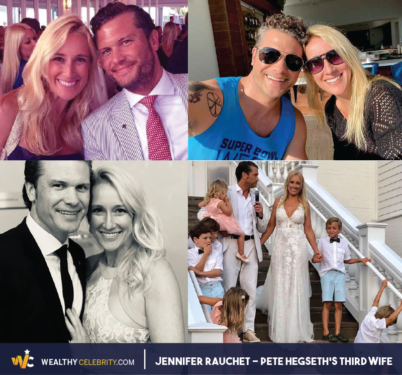 Jennifer Rauchet (Pete Hegseth's Third Wife) Family Pictures