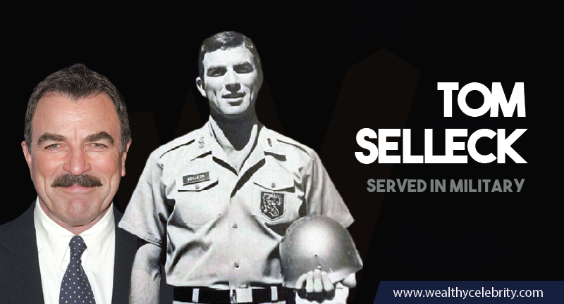 Tom Selleck served in military